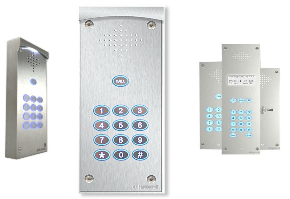 Video Door Entry Systems from Telguard
